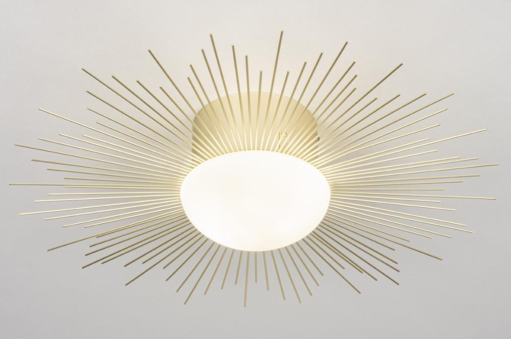 Plafondlamp 14007: design, landelijk, rustiek, klassiek #0