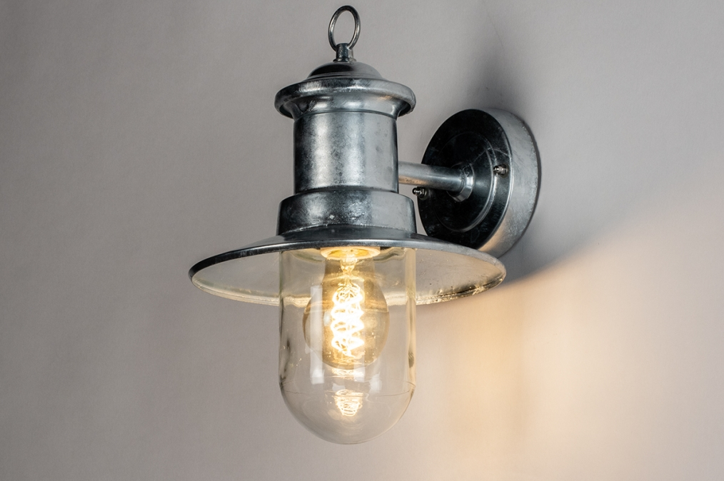 Buitenlamp 14012: landelijk, rustiek, modern, eigentijds klassiek #0