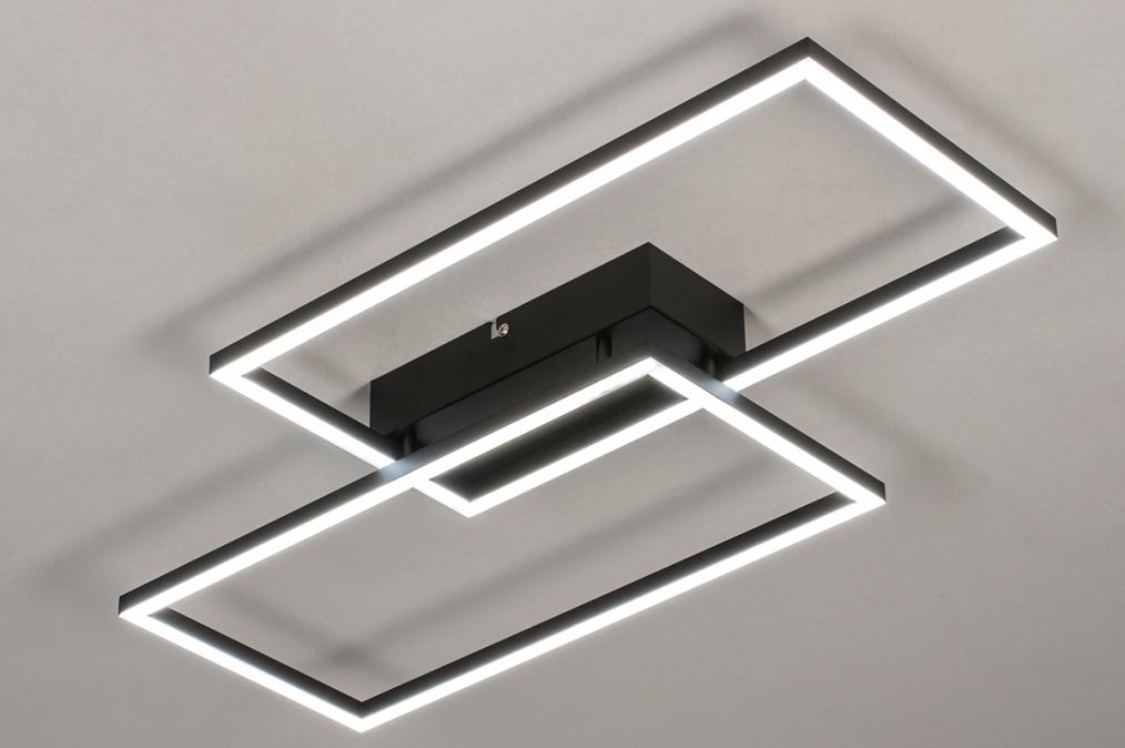 Plafondlamp 14072: design, modern, kunststof, metaal #0