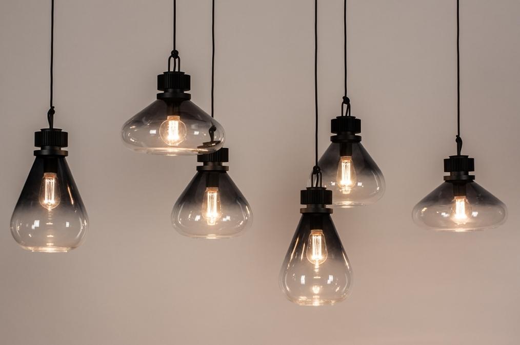 Hanglamp 14080: industrie, look, landelijk, rustiek #0