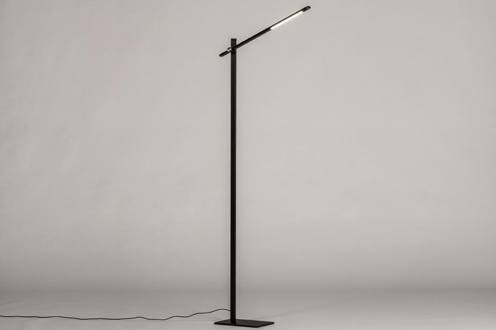 Vloerlamp 14103: design, modern, aluminium, metaal #0