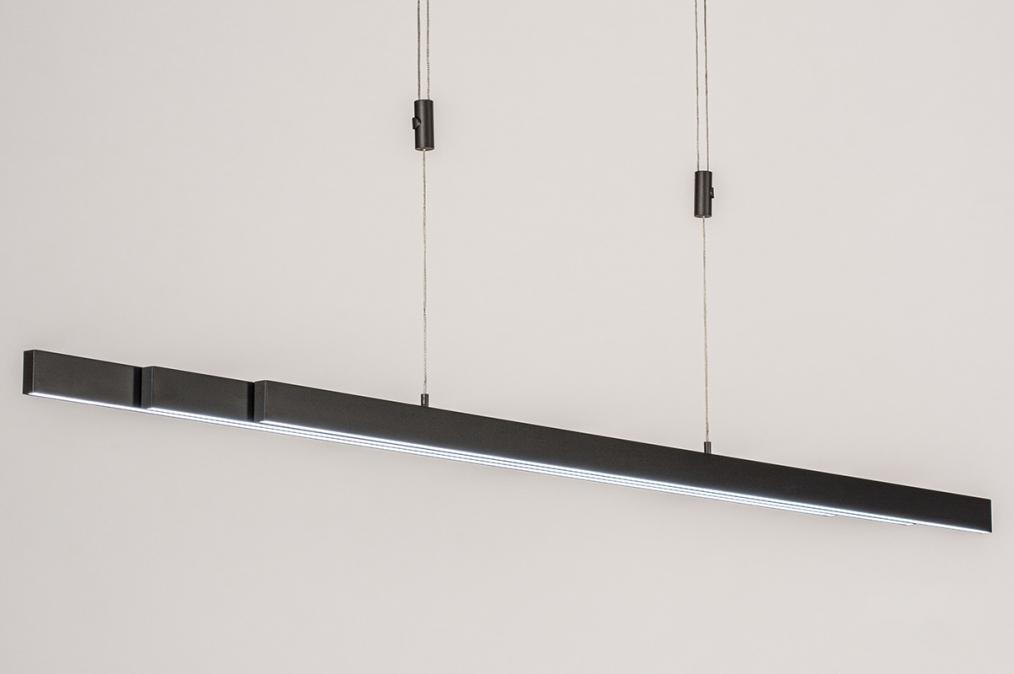 Hanglamp 14108: design, modern, staal rvs, kunststof #0