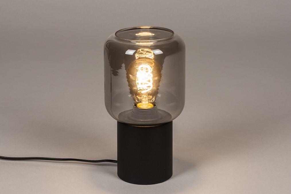 Tafellamp 14139: landelijk, rustiek, modern, eigentijds klassiek #0