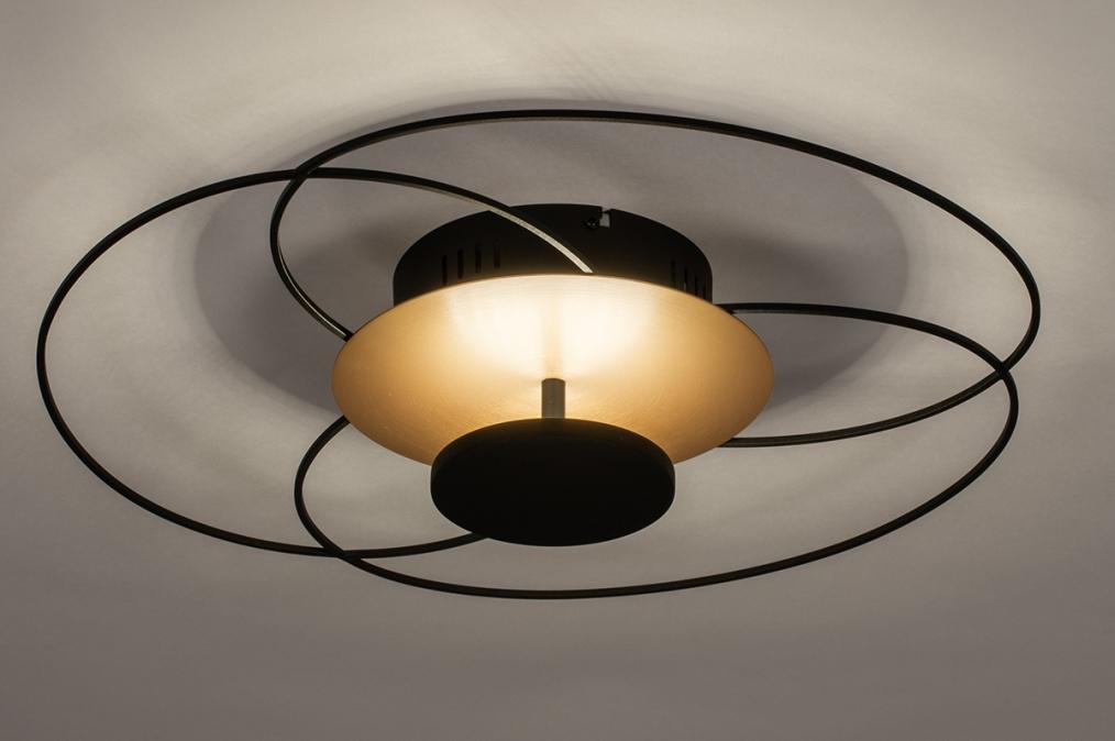 Plafondlamp 14170: landelijk, rustiek, modern, klassiek #0