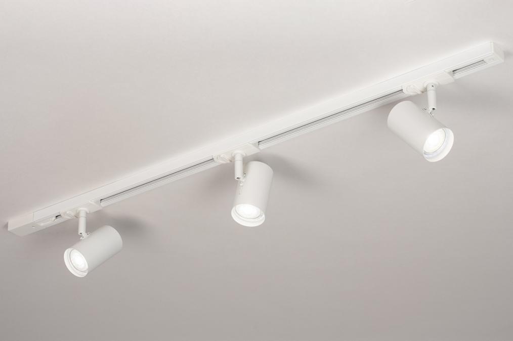 Railspot 14171: modern, metaal, wit, mat #0