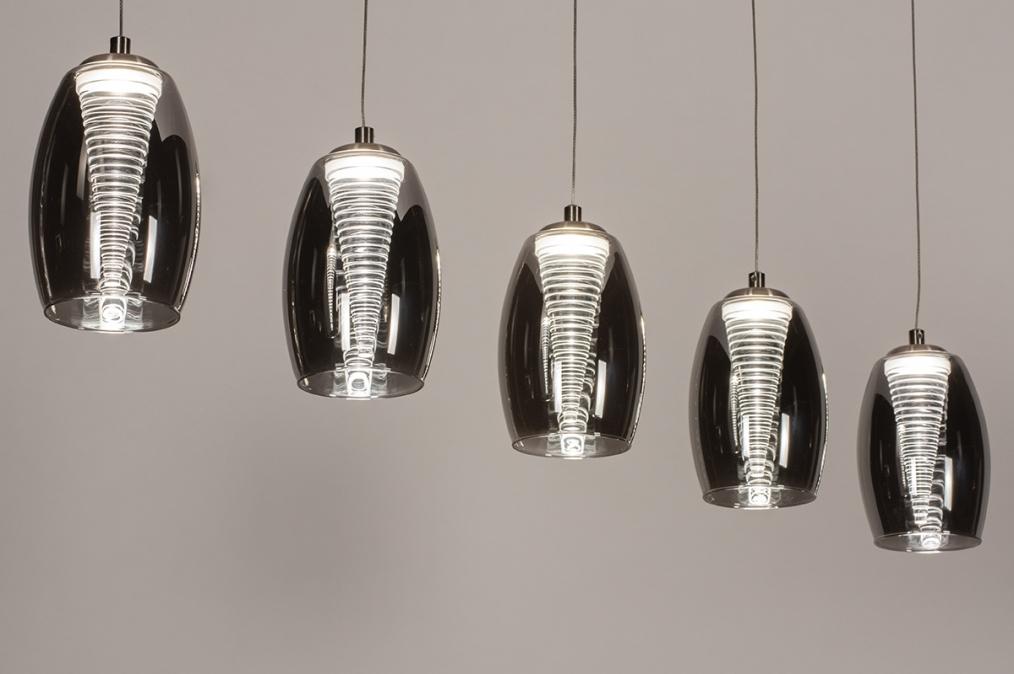 Hanglamp 14176: design, modern, eigentijds klassiek, glas #0