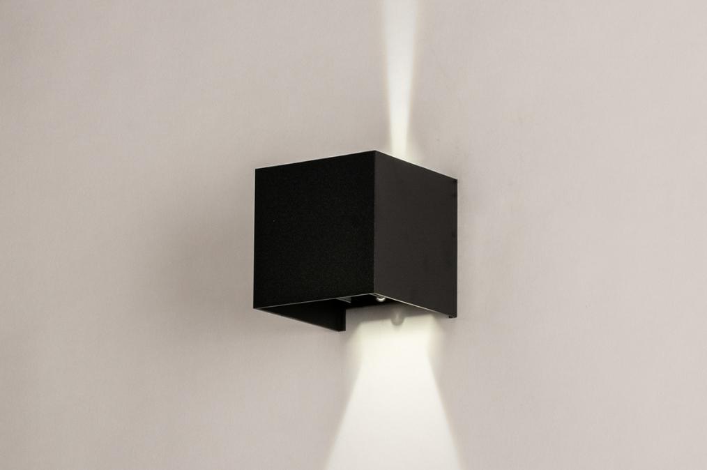 Wandlamp 14203: design, modern, aluminium, metaal #0