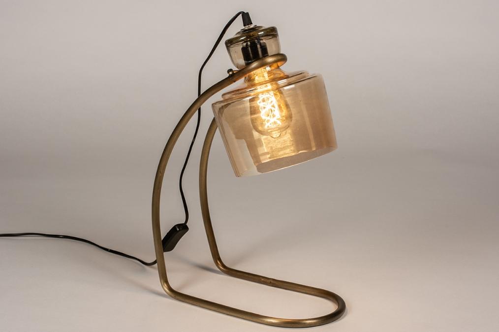 Tafellamp 14217: industrie, look, landelijk, rustiek #0