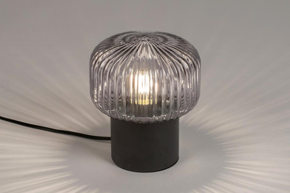 Tafellamp 14266: modern, retro, art deco, glas #0