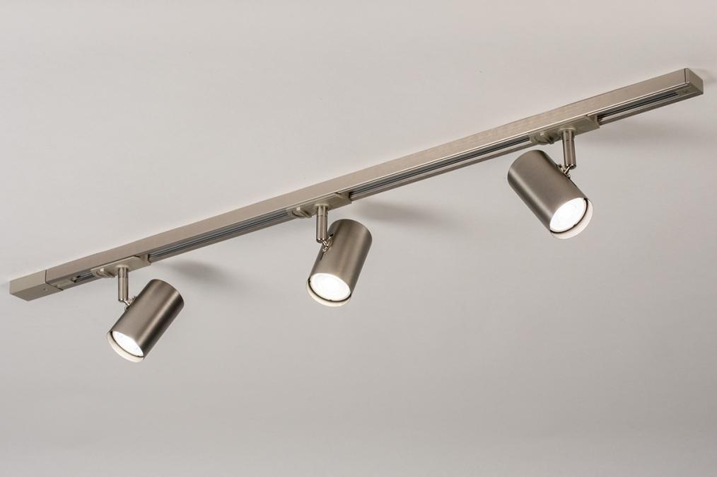 Railspot 14283: modern, staal rvs, metaal, staalgrijs #0