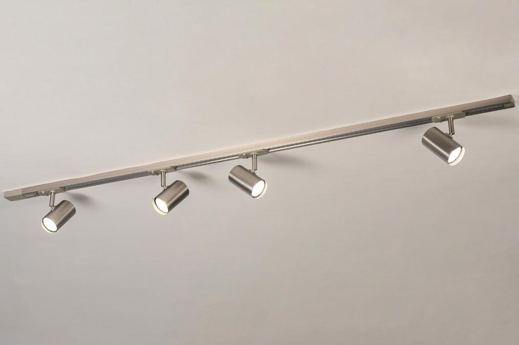Railspot 14284: modern, staal rvs, metaal, staalgrijs #0