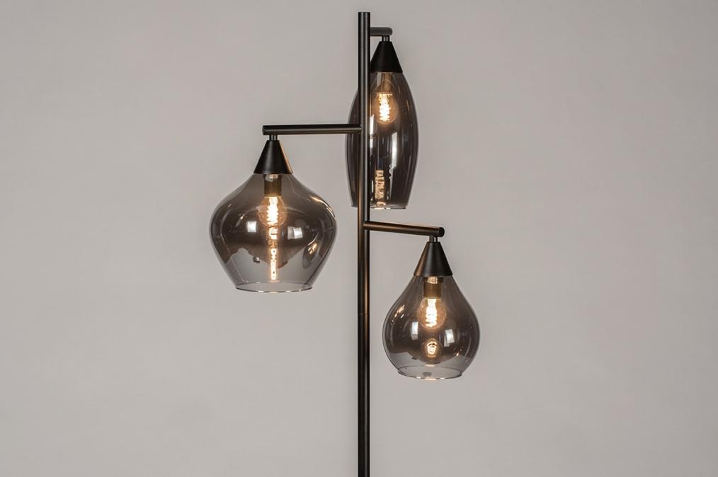 Vloerlamp 14292: modern, retro, eigentijds klassiek, glas #0