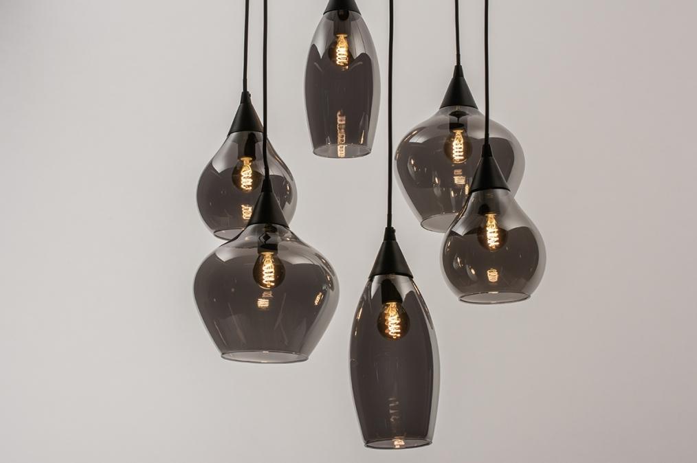 Hanglamp 14295: modern, eigentijds klassiek, art deco, glas #0