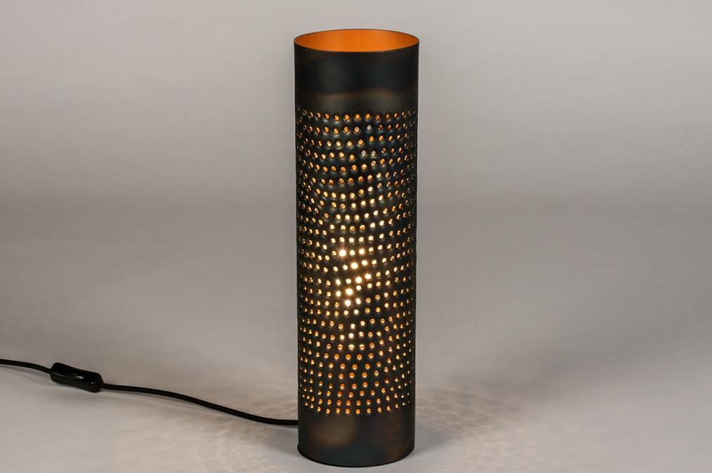 Tafellamp 14328: landelijk, rustiek, modern, eigentijds klassiek #0