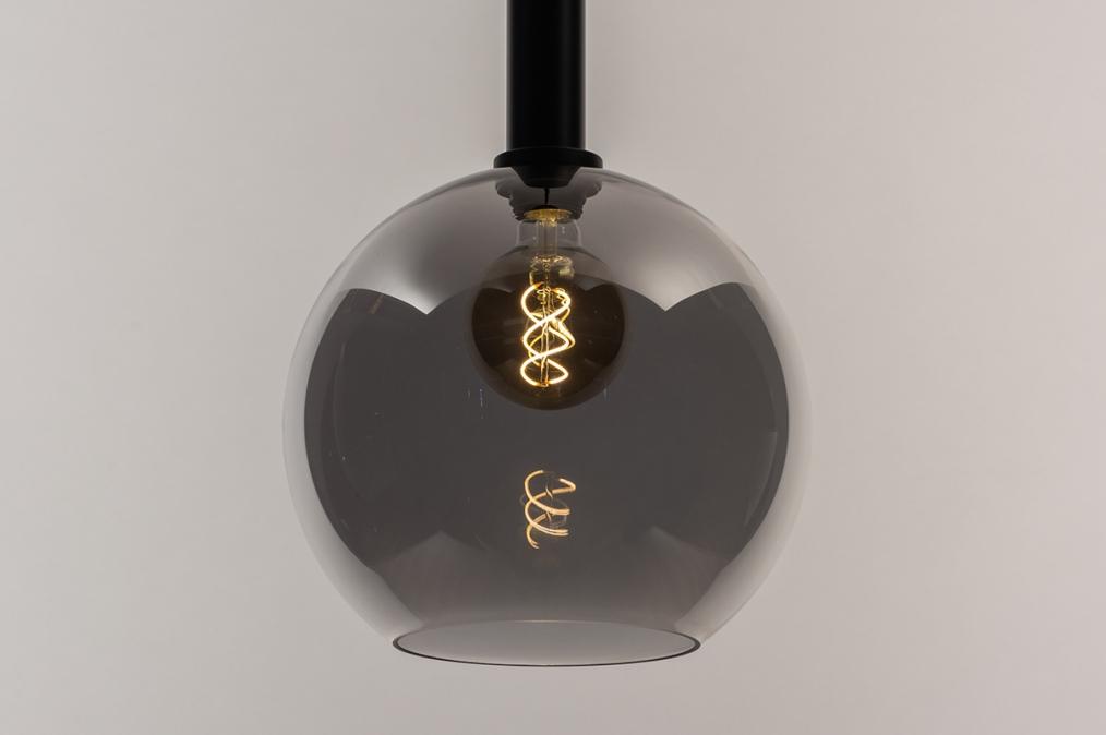 Hanglamp 14334: modern, retro, eigentijds klassiek, glas #0