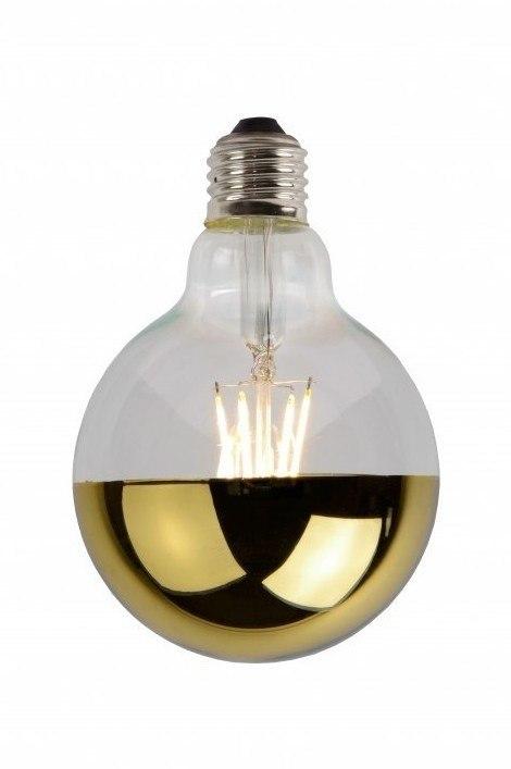 Light bulb 271: glass, gold #0