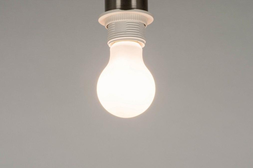 Lichtbron 280: glas, wit opaalglas, wit, rond #0