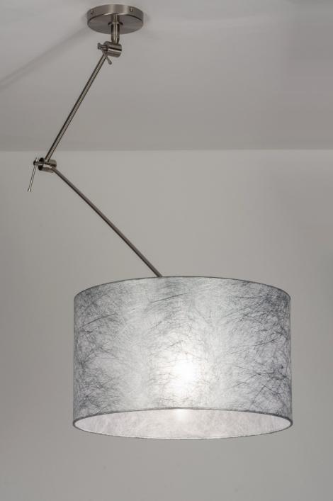 Hanglamp 30009: landelijk, rustiek, modern, stof #0