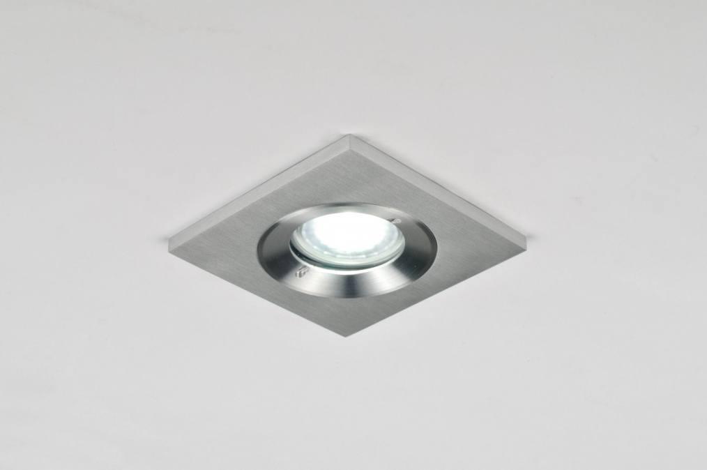 Inbouwspot 30030: Design, Modern, Aluminium, Metaal