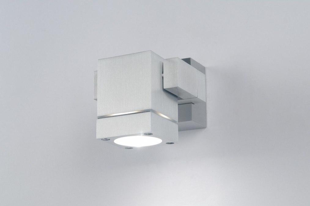 Spot 30038: modern, design, aluminium, geschuurd aluminium #0