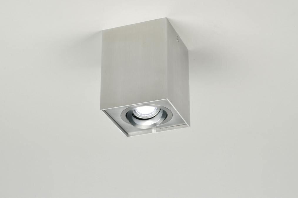 Plafondlamp 30044: modern, design, aluminium, aluminium #0