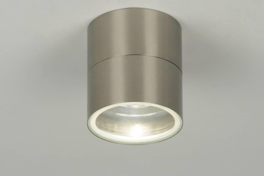 Spot 30106: modern, staal rvs, rond #0