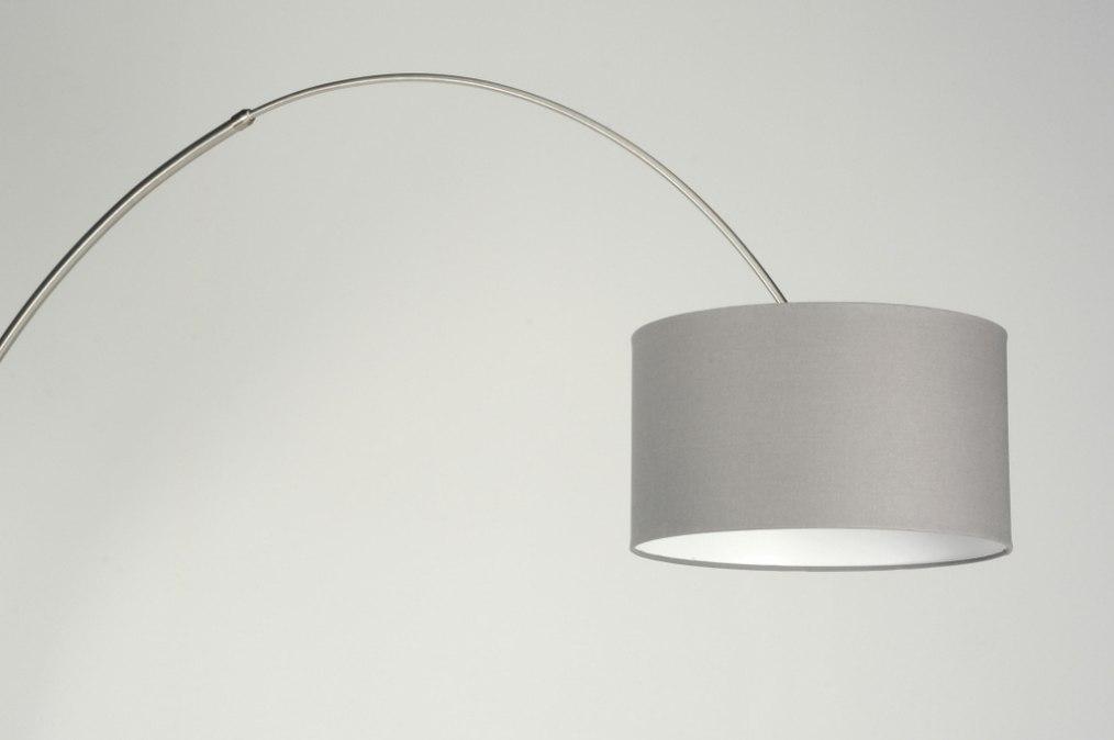 Staande lamp 30178 modern eigentijds klassiek landelijk rustiek grijs - Eigentijds huis grijs ...