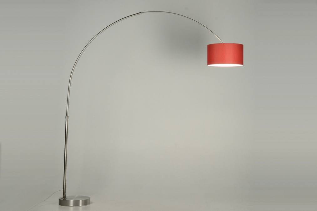 Rvs staande lamp great ronde led staande lamp van de vap ledserie