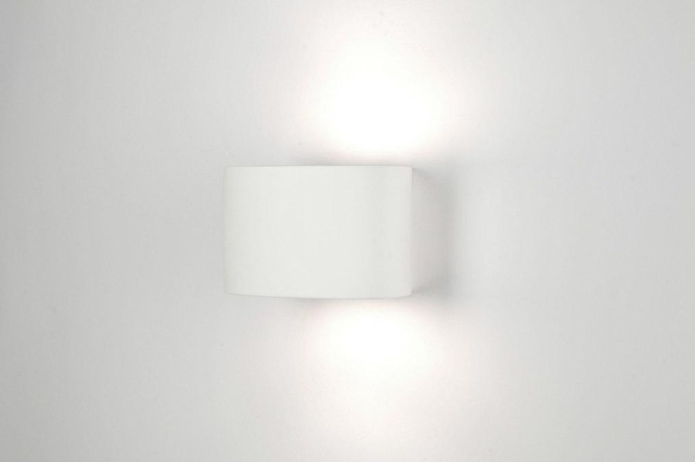 Applique murale 30210: moderne ceramique blanc mat