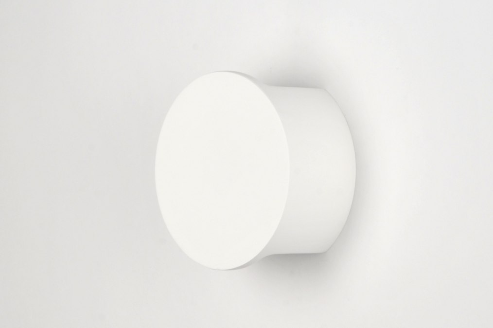 applique murale 30211 moderne ceramique blanc mat. Black Bedroom Furniture Sets. Home Design Ideas