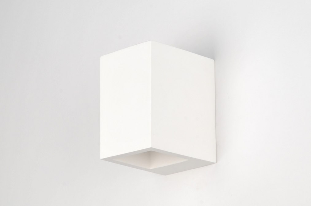applique murale 30212 moderne ceramique blanc mat. Black Bedroom Furniture Sets. Home Design Ideas