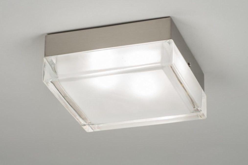 Plafondlamp 30217: modern, retro, glas, helder glas #0