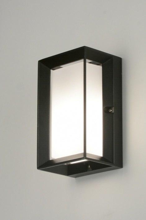 Wandlamp 30262: modern, aluminium, kunststof, polycarbonaat slagvast #0