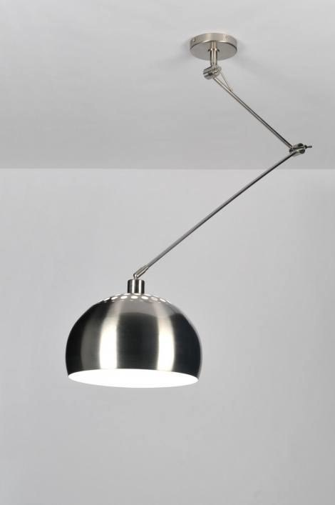 Hanglamp 30333: modern, retro, staal rvs, metaal #0