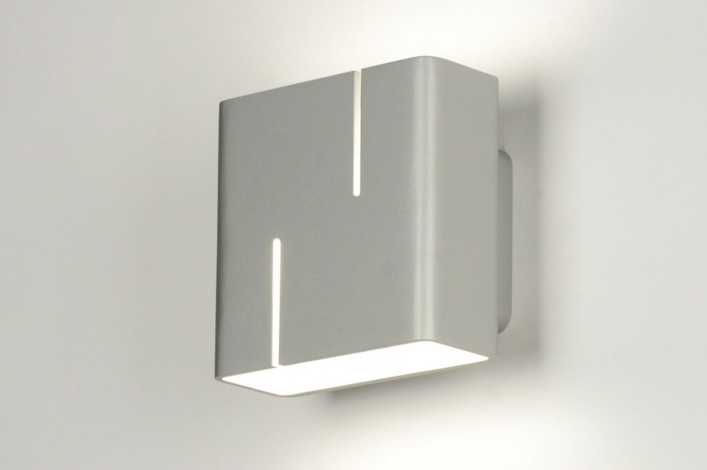 Wandlamp 30360: modern, design, aluminium, aluminium #0