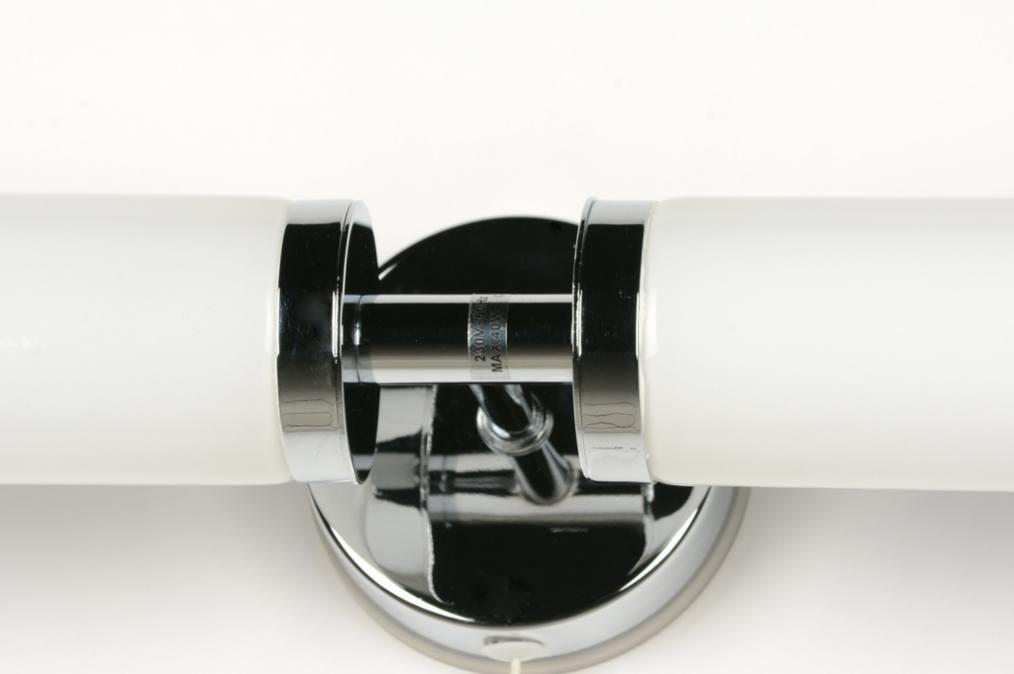 applique murale 30363 moderne classique contemporain chrome verre. Black Bedroom Furniture Sets. Home Design Ideas