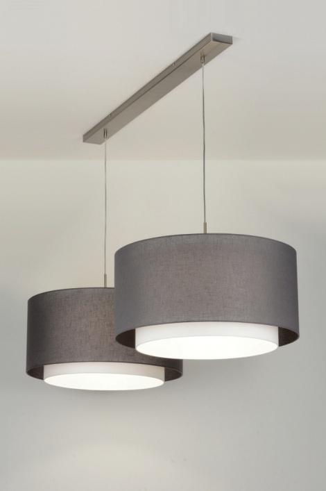Hanglamp 30420 modern eigentijds klassiek landelijk rustiek grijs - Eigentijds huis grijs ...