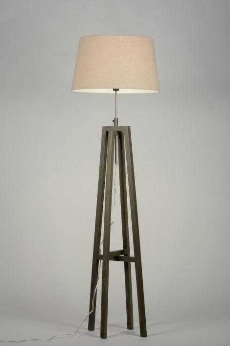 Vloerlamp 30434: modern, eigentijds klassiek, landelijk, rustiek #0