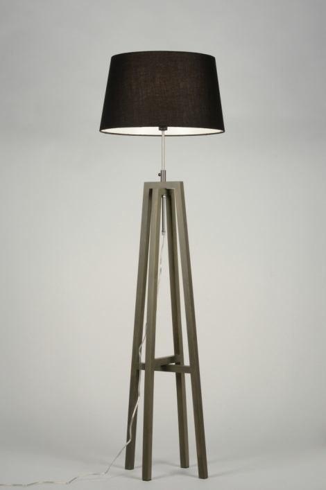 Vloerlamp 30436: modern, eigentijds klassiek, landelijk, rustiek #0