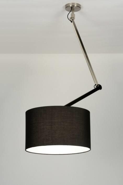 Hanglamp 30441: landelijk, rustiek, modern, stof #0