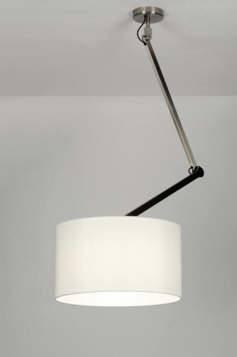 Hanglamp 30442: landelijk, rustiek, modern, stof #0