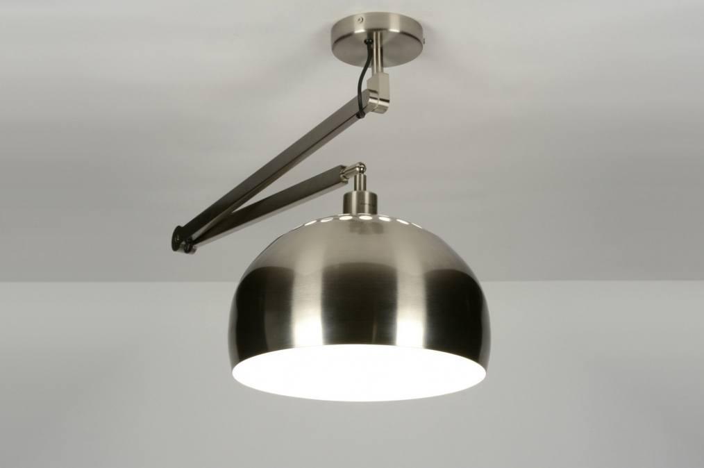 pendelleuchte 30446 modern design stahlgrau stahl rostbestaendig. Black Bedroom Furniture Sets. Home Design Ideas