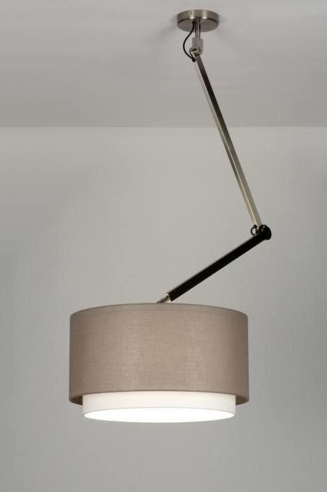 Hanglamp 30447: landelijk, rustiek, modern, stof #0