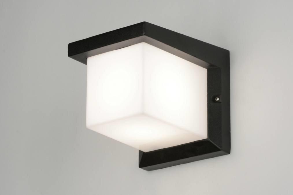 Wandlamp 30465: modern, aluminium, kunststof, polycarbonaat slagvast #0