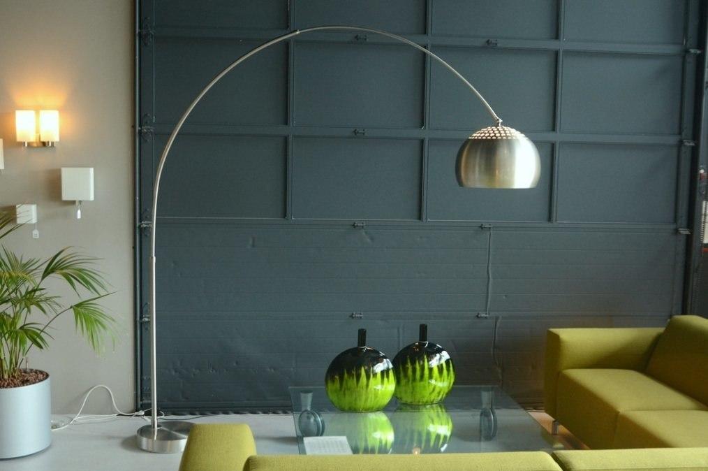 Staande lamp 30501: modern retro staal rvs aluminium