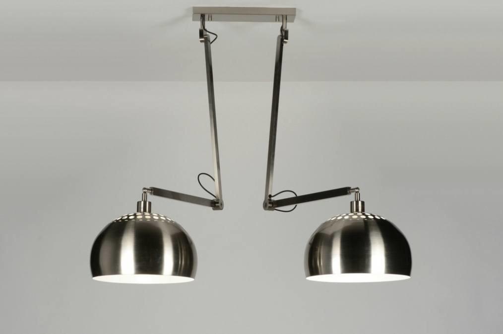 Hanglamp 30507: modern, retro, staal rvs, metaal #0