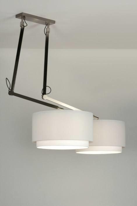 Hanglamp 30509: modern, landelijk, rustiek, wit #0