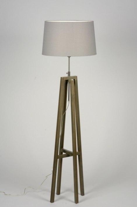 Vloerlamp 30516: modern, eigentijds klassiek, landelijk, rustiek #0
