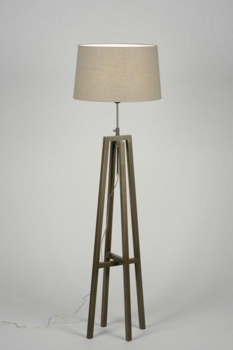 Vloerlamp 30517: modern, eigentijds klassiek, landelijk, rustiek #0