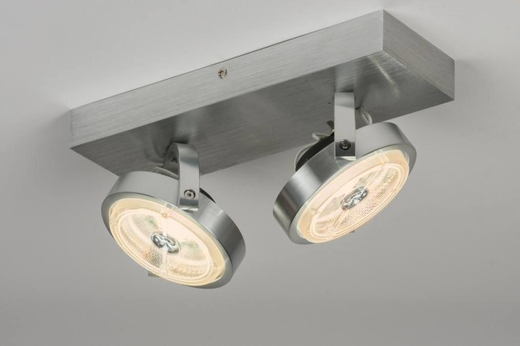 Plafondlamp 30538: modern, design, aluminium, aluminium #0